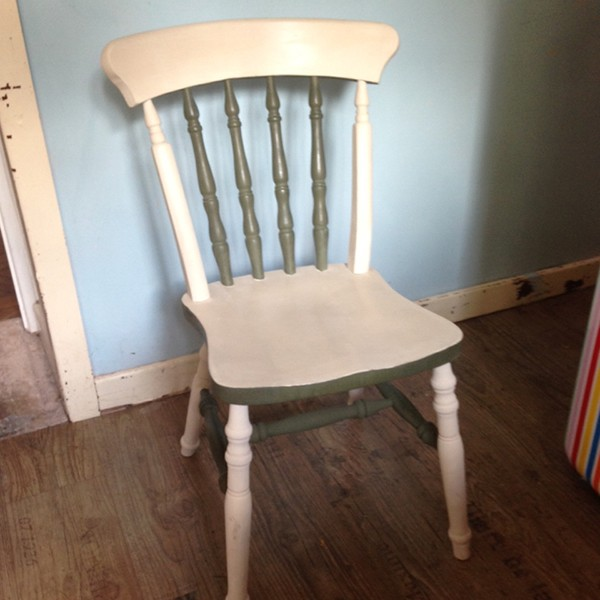 Farmhouse Chair in Annie Sloan Old Ochre